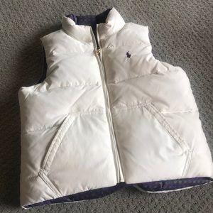 Girls Ralph Lauren puffy vest